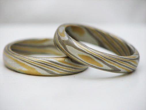 Mokume Gane Ringe